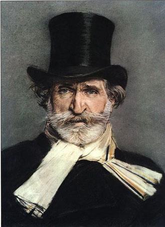 Giuseppe Verdi (Gemälde:  Giovanni Boldini, Lizenz: gemeinfrei)