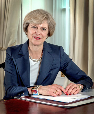 Theresa May | Bild: Wikimedia Commons/Open Government Licence v3.0 (OGL v.3)
