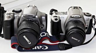 Canon EOS 300D и Canon EOS 300