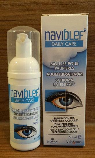 Naviblef Augenlidschaum Lidhygiene Produkttest (Trockene Augen, Sicca Syndrom)
