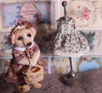 Вышитые лентами ботиночки и сумочка для мишки Тедди одежда для игрушек кукол