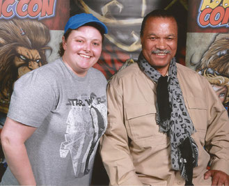 Meeting Billy Dee Williams