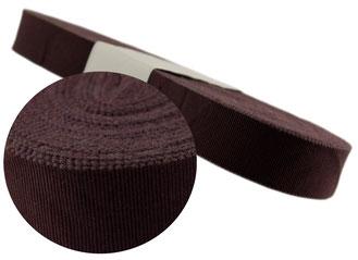 vintage grosgrain ribbon, width 5, bordeaux, cotton (while stocks last)