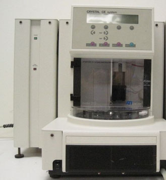 CRYSTAL CE SYSTEM ATI UNICAN 310 für die Chromatographie/ HPLC/ Chemie
