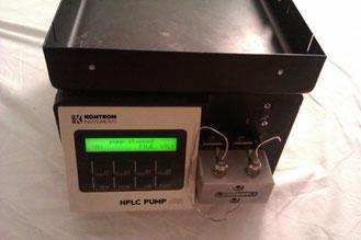 Kontron HPLC Hochdruck Pumpe 422 für die Chromatographie/ HPLC/ Chemie
