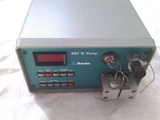 Metrohm 697 IC Pump für die Chromatographie/ HPLC/ Chemie