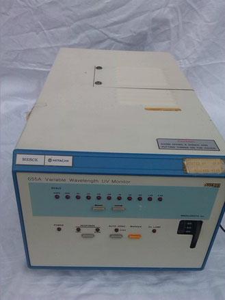 Merck Hitachi 655A Variable Wavelength UV Monitor für die Chromatographie/ HPLC/ Chemie