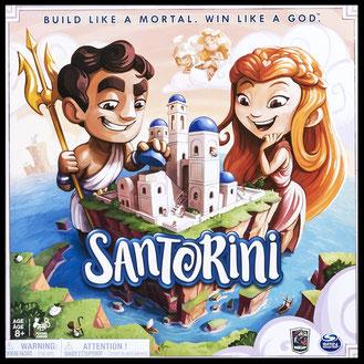 Rezension zu Santorini von Spin Master