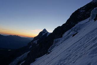 Jungfrau, Rotbrettgrat, Rotbrättgrat, Silberhorn, Silberhornhütte
