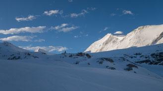 Skitour, Skihochtour, Turtmanntal, Brunegghorn, Turtmannhütte, Gässi