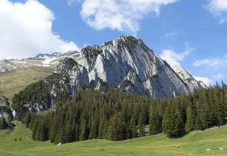 Klettern, Schafbergwand, Blues in my shoes, Wildhaus, Alpstein, Schafberg, Mehrseillängen