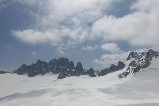 Aiguille Purtscheller, Südgrat, arete Sud, south ridge, Trient, Cabane du Trient, Trienthütte, Ornyhütte, Cabane d'Orny