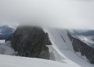 Hochtour, Obergabelhorn, Normalweg, Südwand, Abstieg, Wellenkuppe, Gendarm