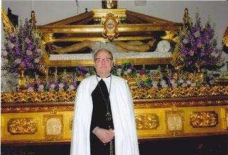 Angel Francisco Ramos Morales. Presidente de la Cofradía.