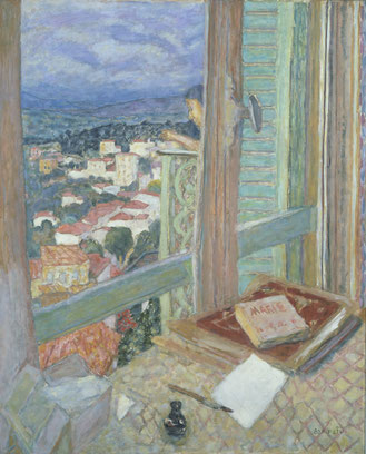 Pierre Bonnard (1867-1947) Das Fenster, 1925 Öl auf Leinwand, 108,6 x 88,6 cm Tate, London © VG Bild-Kunst, Bonn 2017 / Foto: Tate, London 2017