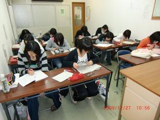 冬期講習会-入試に向かって集中
