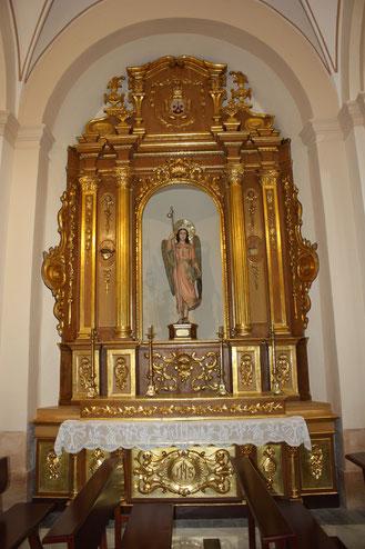 Altar San Rafael Arcángel
