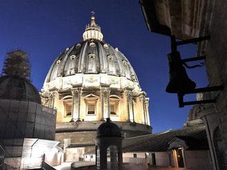 Купол собора св. Петра в Ватикане, фото