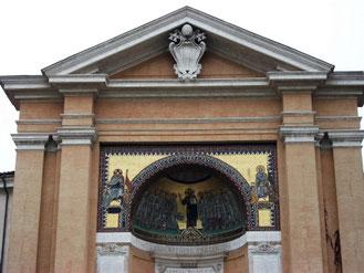 Мозаика в Риме  8 века, бывшая резиденция римкого папы, фото