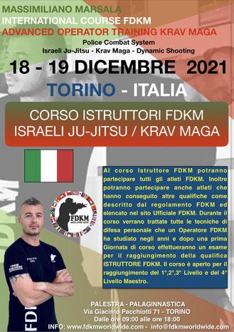 INSTRUCTOR KRAV MAGA FDKM ITALY