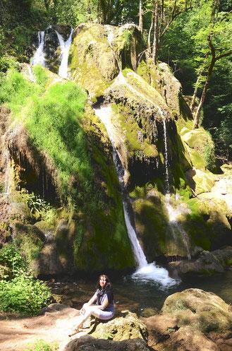 """La très jolie """" Cascade à la naïade"""" de Muret (Aveyron)"""
