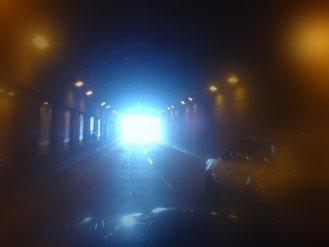 Jesús es la luz al final del túnel.