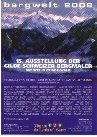 Ausstellung im Museum Saanen, Berneroberland/CH