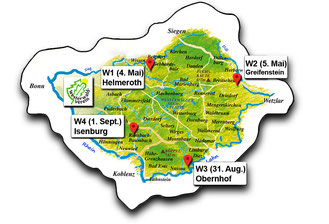 """05.05.2019 WWV-Wanderung """"Greifenstein"""""""