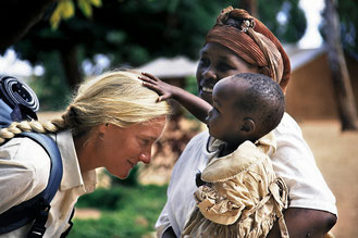 Sonia Poussin - Africa trek