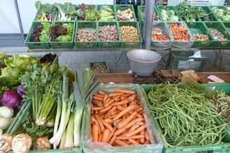 Mittwochmarkt im Dorfmärit Bolligen Foto Georg Ledergerber