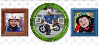 Mit der Helmserie Baby Nutty komplementiert Nutcase das Helmangebot für die ganze Familie