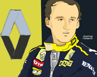 Robert Kubica by Muneta & Cerracín