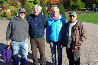 v.l. Marcel Hardtke, Gerd Hahlbrock, Ulla Weiß, Klaus Hübner