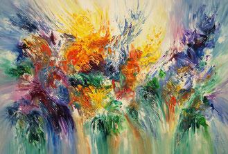 abstrakte moderne Malerei, groß