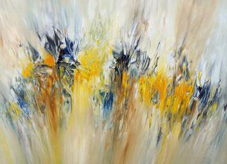 Sunny Nature M 3 ein sonniges, abstraktes Gemälde