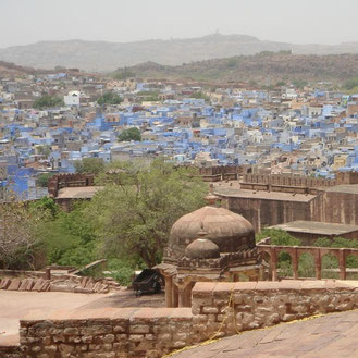 Jodhpur die blaue Stadt Rajasthans