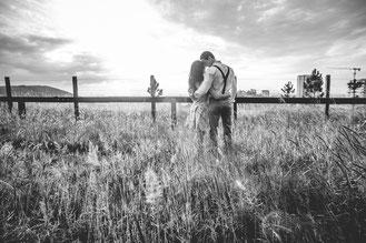 1 an de Mariage : Une séance photo en blanc