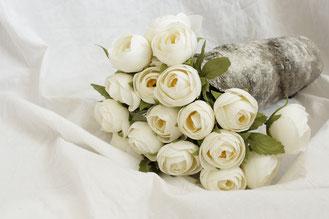 1 an de Mariage : Un bouquet de fleurs