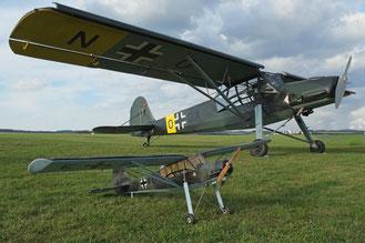 Zumindest ein Modell vom Fieseler Storch wird zu sehen sein.(Foto: Peter Wirminghaus)