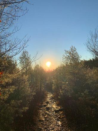 New Hampshire sunrise photo by Don Ash, May 2021