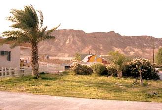 am Ende der Negev eine kleine Siedlung