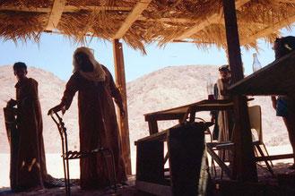 die letzte Beduinen-Station