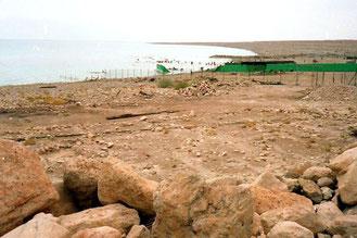 bei Sodoma - Blick auf das Tote Meer