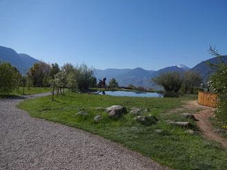 Bild vom Burglehenpark in Dorf Tirol