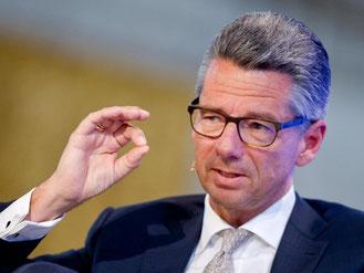 Der Präsident des Bundesverbands der Deutschen Industrie e.V., Ulrich Grillo. Foto: Daniel Bockwoldt