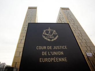 Die beiden Türme des Europäischen Gerichtshofs (EuGH) in Luxemburg. Foto: Thomas Frey/Archiv