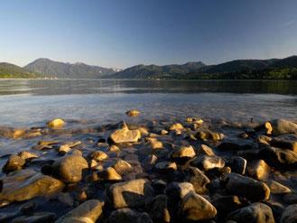 Nicht nur Wasser und Berge: Das bayerische Oberland rund um den Tegernsee hat sich als Feinschmeckerregion einen Namen gemacht. Foto: Bayern Tourismus