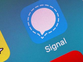 Sichere Kommunikation über die App Signal gibt es nun auch für Android. Foto: Andrea Warnecke