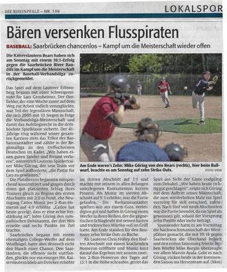 Rheinpfalz 19.06.2013