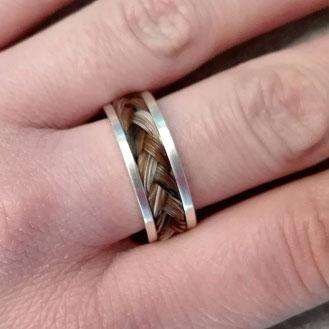 Schmuck aus Pferdehaar - Ring von Horsessoires